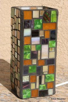 zoe mosaic designs lamp