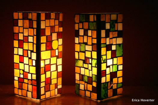 zoe mosaic designs stained glass lamps